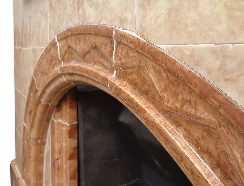 Detail of sweeping arch