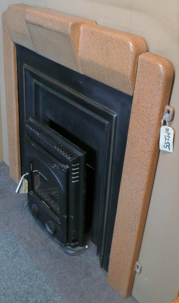 Great for a contemporary stove surround as it is completely non-combustible.