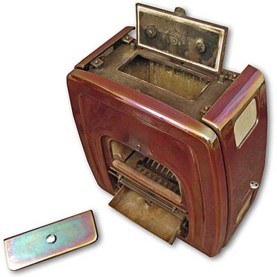 Esse Autovector Stove with electric fire. 1950s / 1960s design