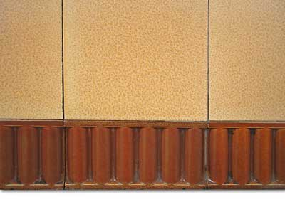 1950s tiled Fireplace