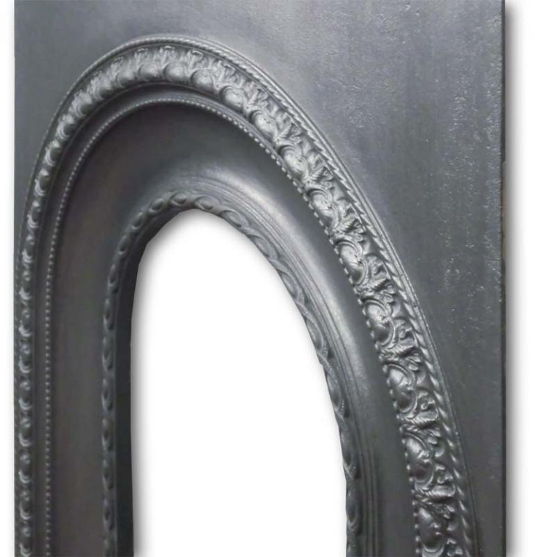 Victorian Cast Iron Fireplace insert with its original bars