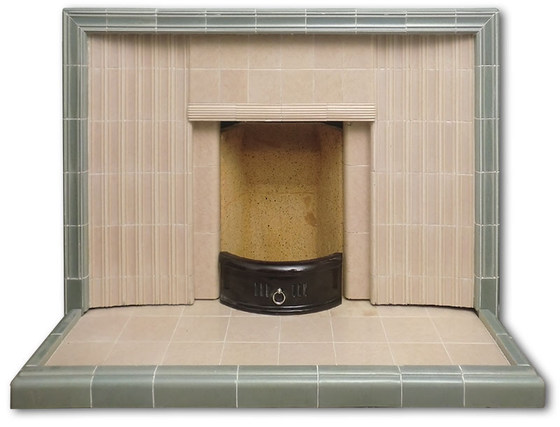 Late 1950's fireplace