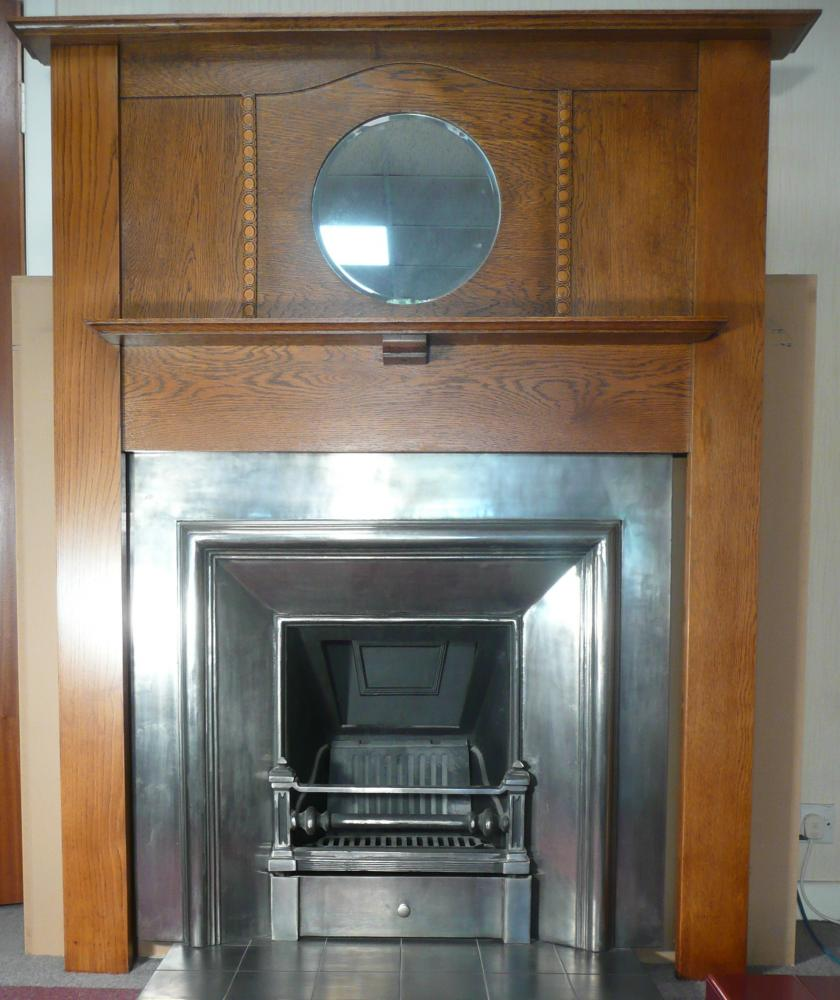 The Royal is a cast iron fireplace insert in the Georgian style