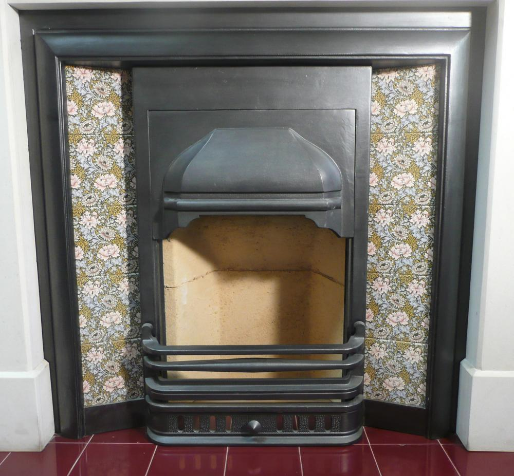 Alice Mantel with Prince Cast Iron Insert