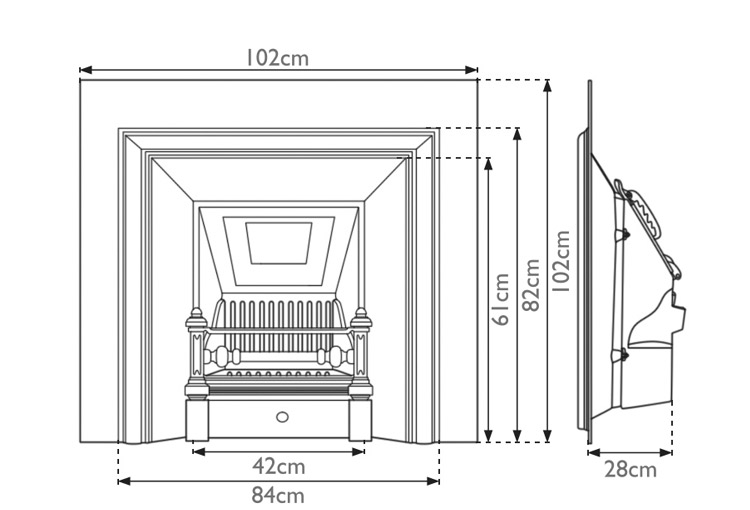 The Royal insert dimensions