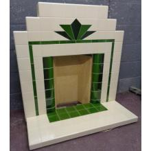 All tiled Craddock fireplace