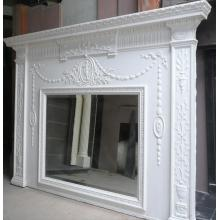 Edwardian Original Mantel made from Pine wood and Gesso