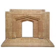 1950s Gothic Arch Fireplace