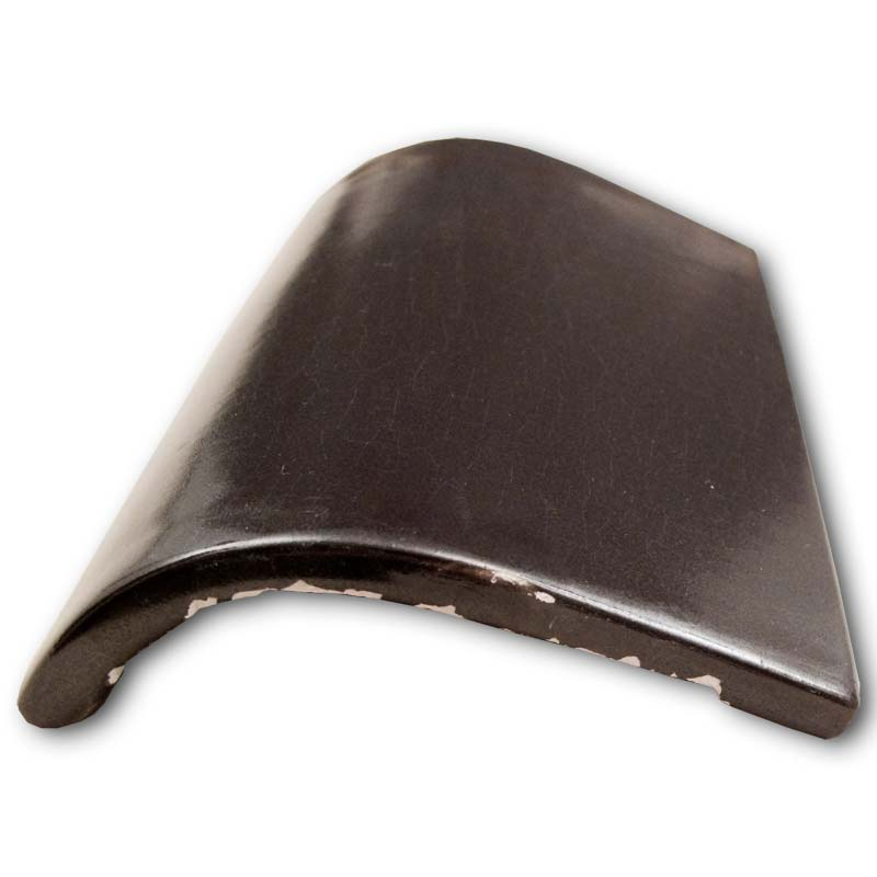 6 inch x 4 inch bullnose fireplace opening tile